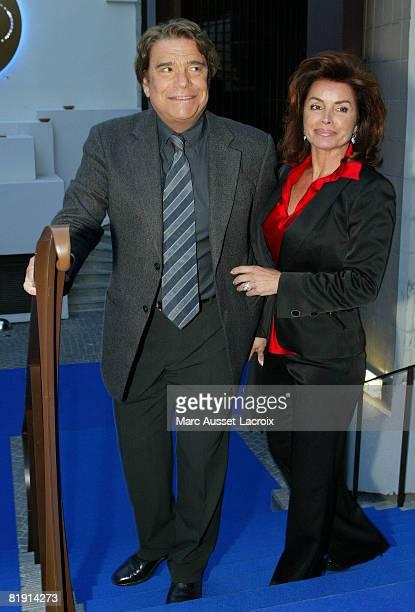 Bernard Tapie and Dominique Tapie