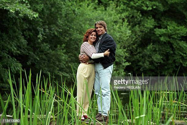 Bernard Tapie And His Wife In Deauville On Jully 1st1996 In Deauville France