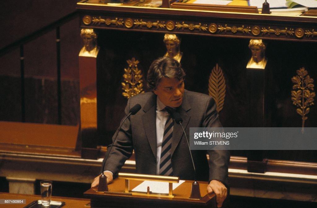 Bernard Tapie A L'Assemblee Nationale : Foto di attualità