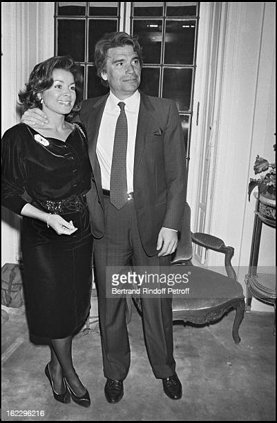Bernard Tapie with his wife Dominique