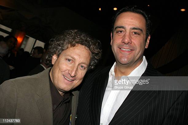 Bernard Telsey and Brad Garrett during New York Casting Society of America 21st Annual Artio's Awards at American Airlines Theater Penthouse in New...