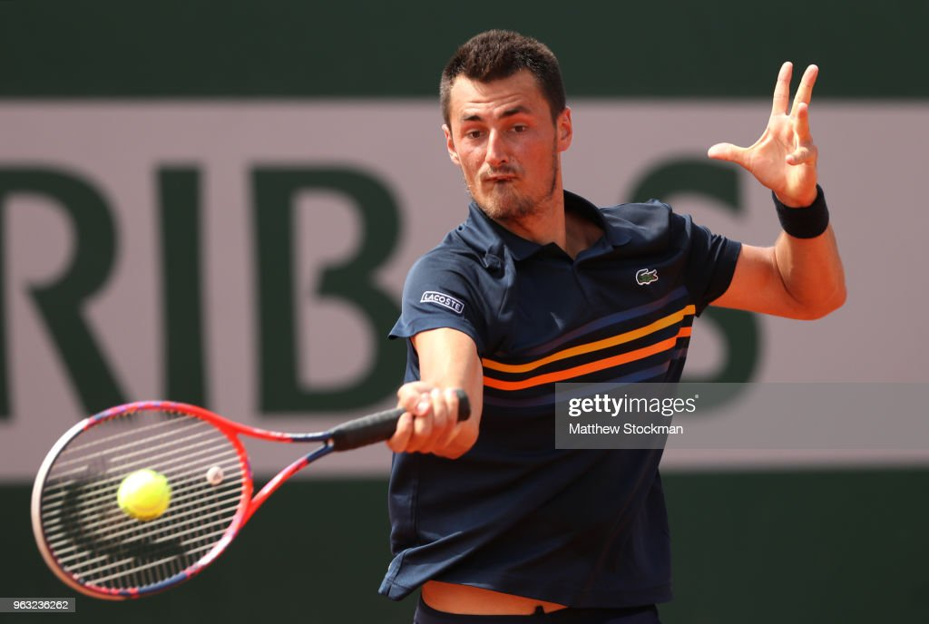 2018 French Open - Day Two : Foto di attualità