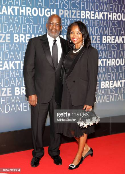 Bernard Tyson and Denise BradleyTyson attend the 2019 Breakthrough Prize at NASA Ames Research Center on November 4 2018 in Mountain View California