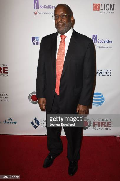 Bernard Tyson attends the 4th Annual California Fire Foundation Gala at Avalon Hollywood on March 22 2017 in Los Angeles California