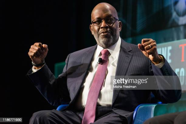 Bernard Tyson Chairman and CEO Kaiser Permanente speaks during the CEO Initiative event on September 25 2017 in New York City The CEO Initiative...