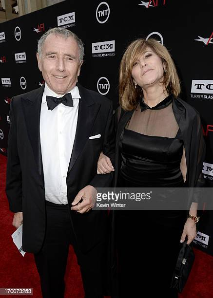Bernard Weinraub and Co-chair of Sony Pictures Entertainment, Inc. And Chairman of SPE's Columbia TriStar Motion Picture Group Amy Pascal attend the...