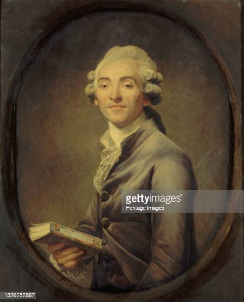 Bernard-Germain-Etienne de la Ville-sur-Illon, comte de Lacépède , circa 1785. Found in the collection of Musée Carnavalet, Paris. Artist Ducreux,...