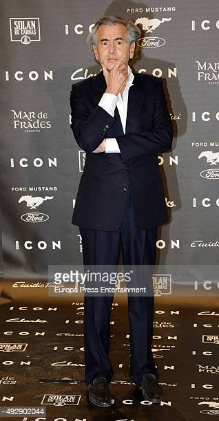 BernardHenri Levy attends fashion 'ICON Awards Men of the Year' on October 15 2015 in Madrid Spain