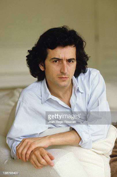 BernardHenri Levy French philosopher at his place 1984