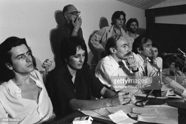 Bernard-Henri Levy, Joan Baez, Claude Malhuret, Elie Wiesel .