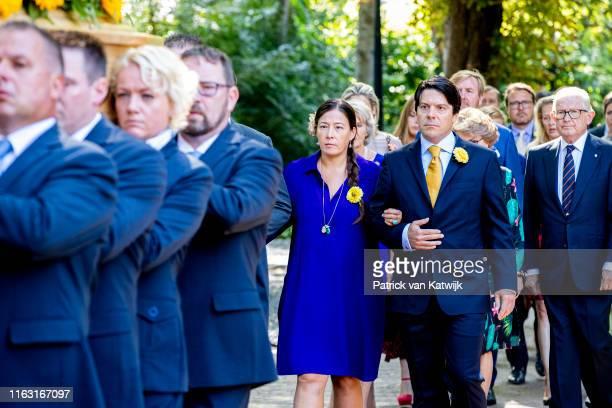 Bernardo and Juliana Guillermo King WillemAlexander of The Netherlands Pieter van Vollenhoven and Prince Constantijn of The Netherlands attend the...