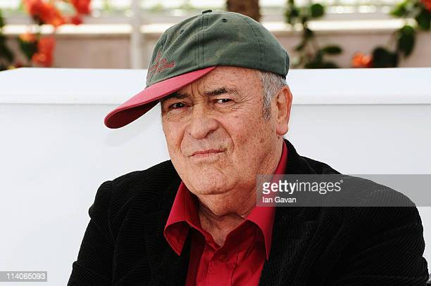 Bernardo Bertolucci attends the Palme D'Honneur photocall in his honour at the Palais des Festivals during the 64th Cannes Film Festival on May 11...
