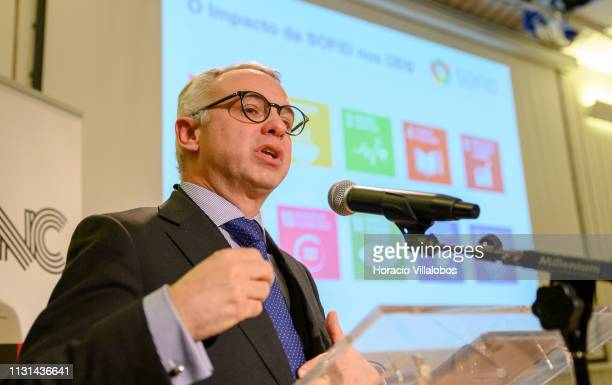 Bernardo Ivo Cruz Executive Board Member at SOFID the state owned Portuguese Development Finance Institution delivers a keynote speech at 'Open Days...