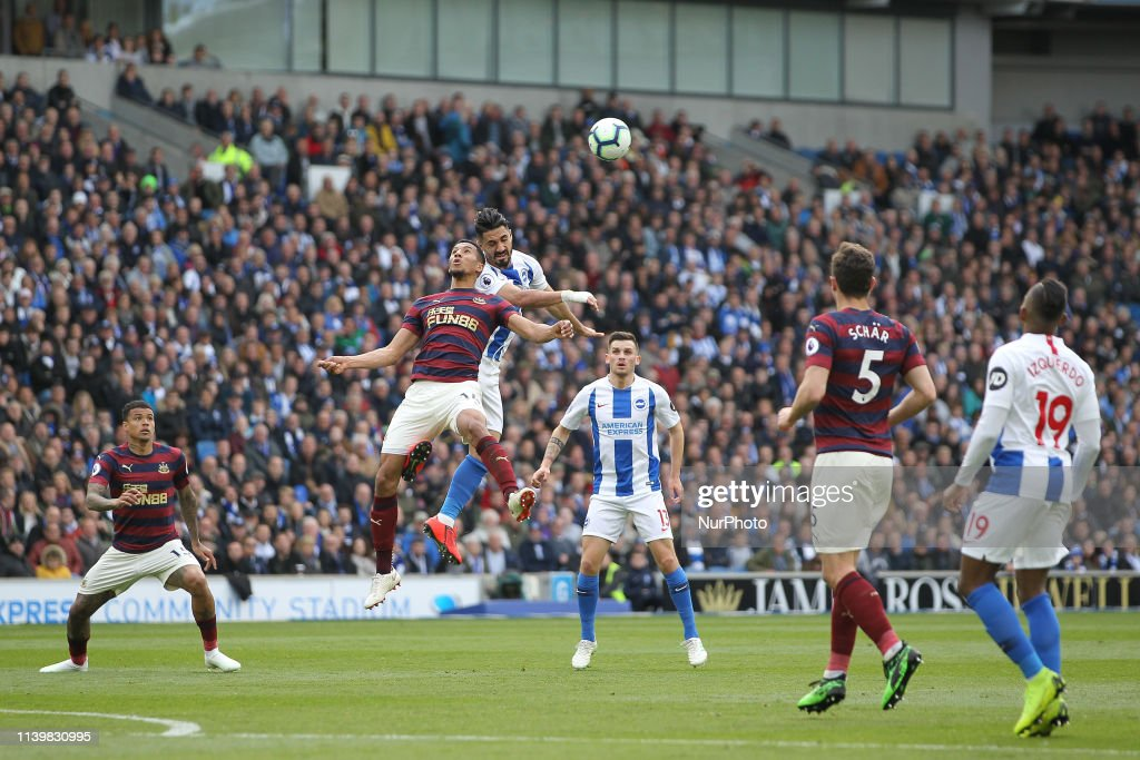 Brighton & Hove Albion v Newcastle United - Premier League : News Photo