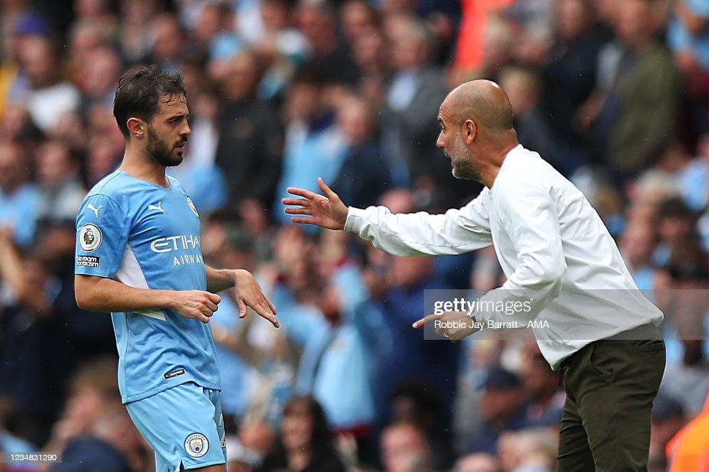 Manchester City v Norwich City - Premier League : Fotografía de noticias