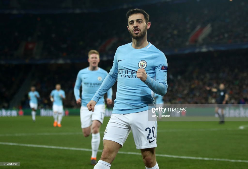 FC Basel v Manchester City - UEFA Champions League Round of 16: First Leg : ニュース写真
