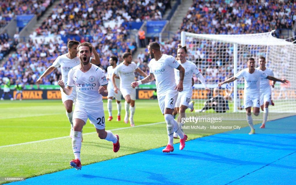 Leicester City v Manchester City - Premier League : ニュース写真