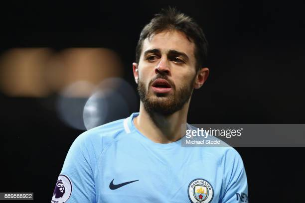 Bernardo Silva of Manchester City during the Premier League match between Manchester United and Manchester City at Old Trafford on December 10 2017...