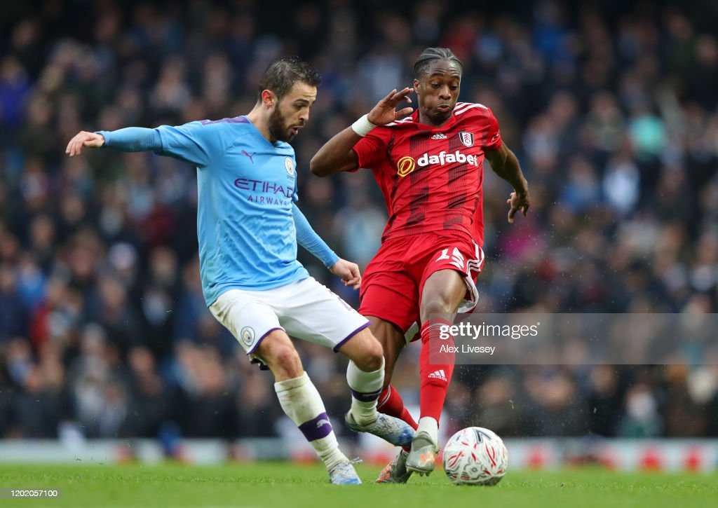 Manchester City v Fulham FC - FA Cup Fourth Round : ニュース写真