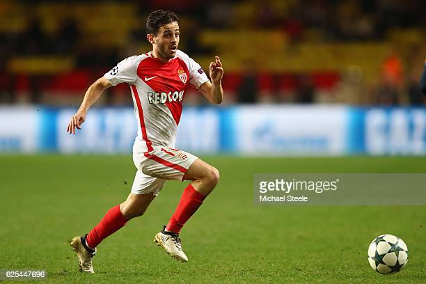 Bernardo Silva of Monaco during the UEFA Champions League Group E match between AS Monaco FC and Tottenham Hotspur FC at Louis II Stadium on November...