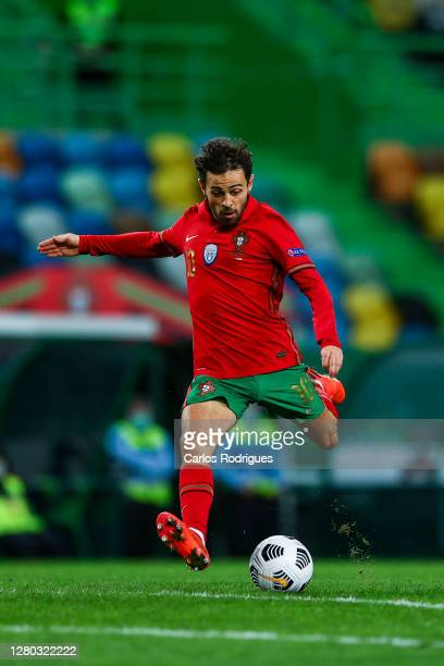 Bernardo Silva of Portugal and Macheste City FC during the UEFA Nations League group stage match between Portugal and Sweden at Estadio Jose Alvalade...