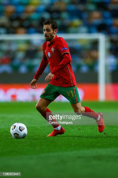 Bernardo Silva of Portugal and Machester City FC during the UEFA Nations League group stage match between Portugal and Sweden at Estadio Jose...