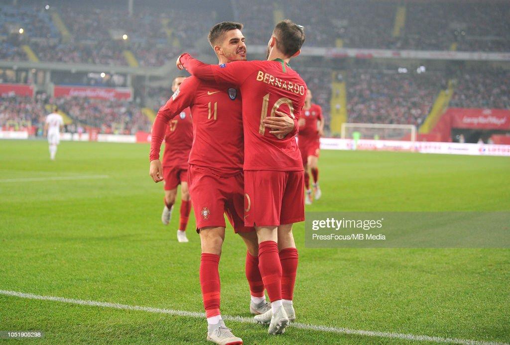 Poland v Portugal - UEFA Nations League A : Photo d'actualité