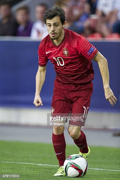 Bernardo Silva of Portugal during the UEFA European Under21 Championship final match between Sweden and Portugal on June 30 2015 at the Eden stadium...