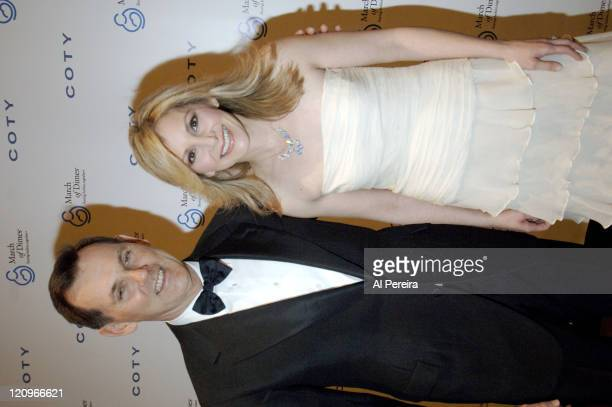 Bernd Beetz and Andrea Day during March of Dimes 31st Annual Beauty Ball in New York United States
