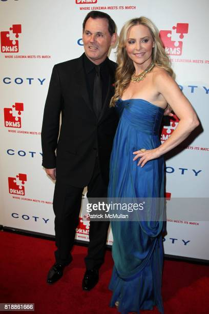 Bernd Beetz and Carmindy attend DKMS' 4th Annual Gala' LINKED AGAINST LEUKEMIA at Cipriani's 42nd St on April 29 2010 in New York City