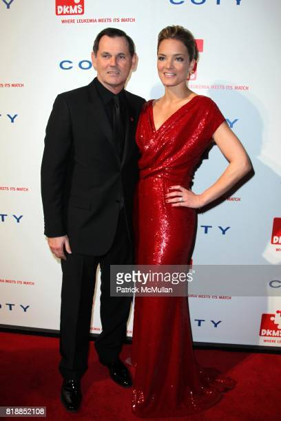 Bernd Beetz and Katharina Harf attend DKMS' 4th Annual Gala' LINKED AGAINST LEUKEMIA at Cipriani's 42nd St on April 29 2010 in New York City