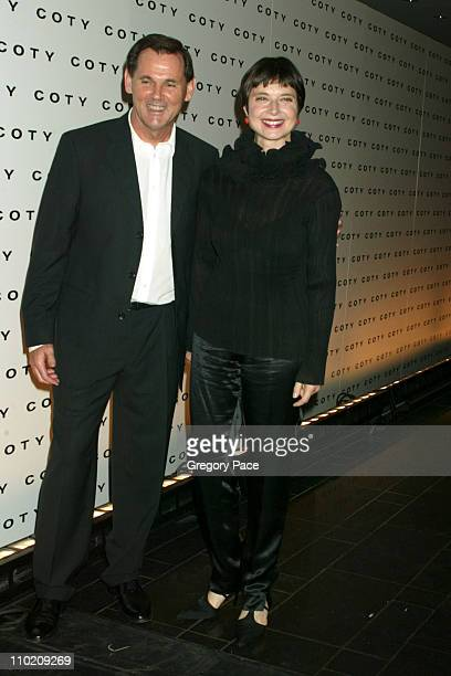 Bernd Beetz CEO of Coty Inc and Isabella Rossellini