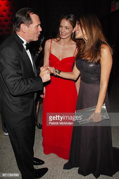 Bernd Beetz Katharina Harf and Eva Mendes attend The 2nd Annual DKMS LINKED AGAINST LEUKEMIA Gala Red Carpet Arrivals at Capitale NYC on May 7 2008