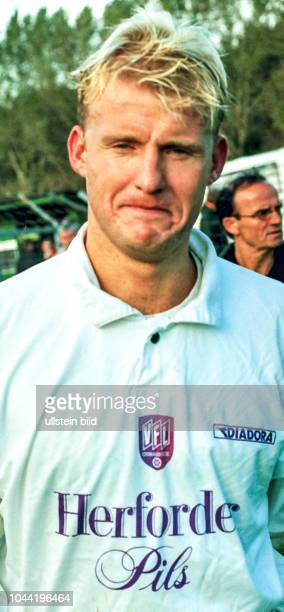 Bernd Heemsoth Spieler beim VfL Osnabrück hier in der Saison 1997/1998 Aus Regionalliga Nord 1997/1998 Arminia Hannover gegen den VfL Osnabrück 22