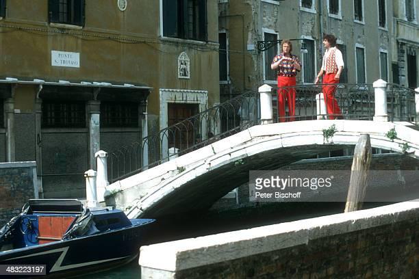 Bernd Hengst und Olaf Malolepski ZDFSpecial Liebe ist mein erster Gedanke am Venedig Italien