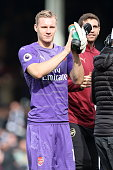 london england bernd leno arsenal during