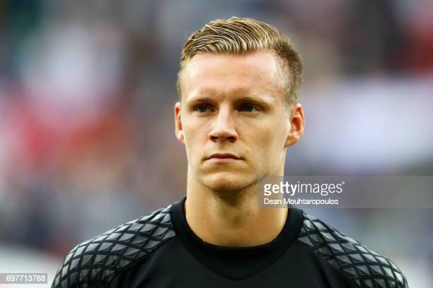 Bernd Leno of Germany looks on prior to the FIFA Confederations Cup Russia 2017 Group B match between Australia and Germany at Fisht Olympic Stadium...