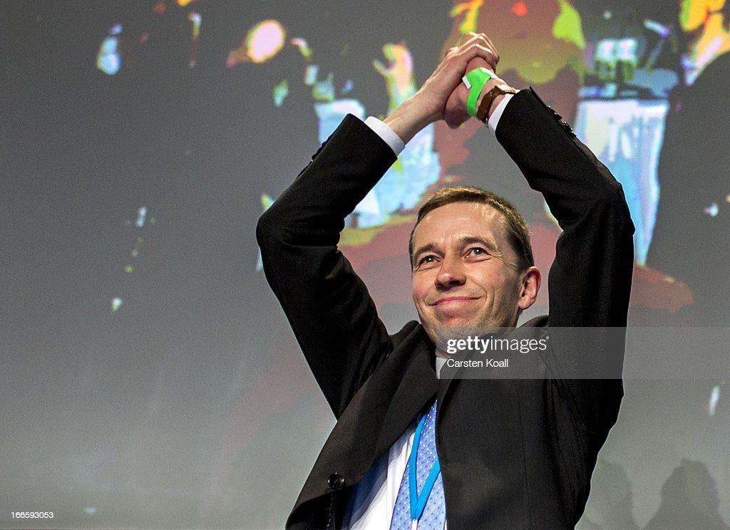 'Alternative fuer Deutschland' New Political Party Launch : News Photo