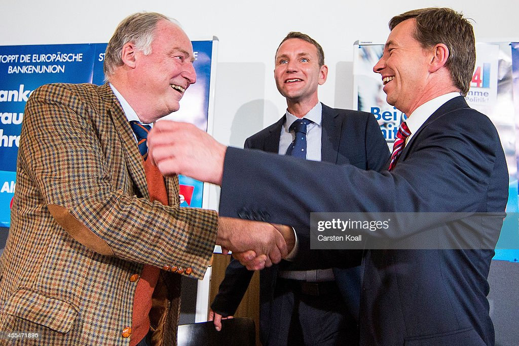 AfD Euphoric Following Brandenburg And Thuringia Election Results : News Photo