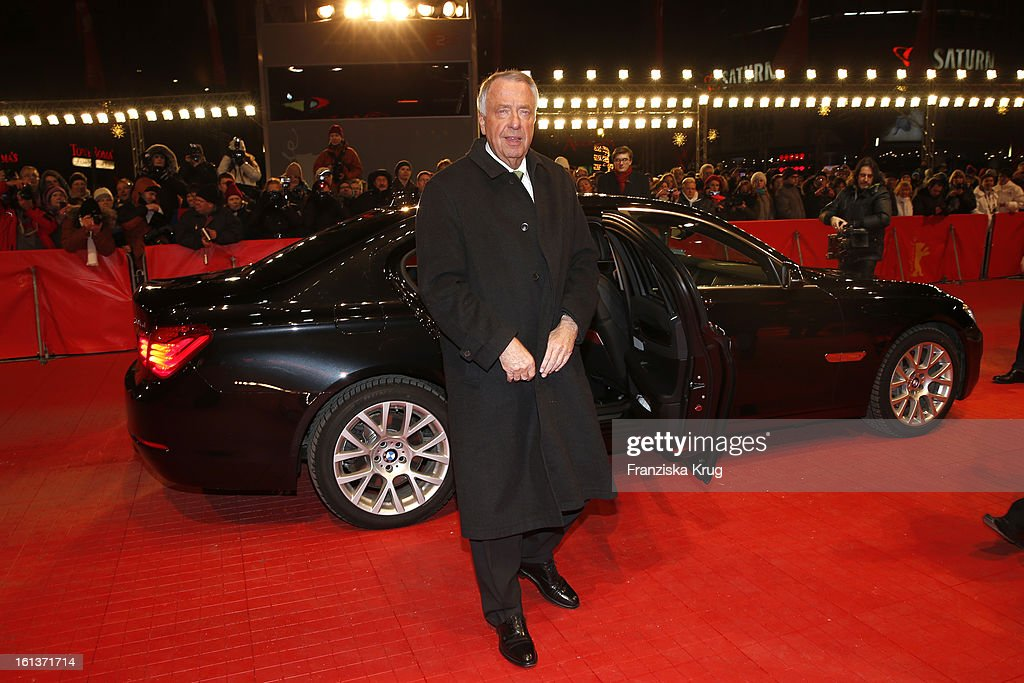 Bernd Naumann attends 'The Nun' Premiere - BMW at the 63rd Berlinale International Film Festival at the Berlinale-Palast on February 10, 2013 in Berlin, Germany.