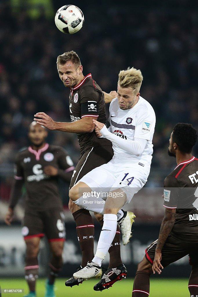 FC St. Pauli v FC Erzgebirge Aue - Second Bundesliga