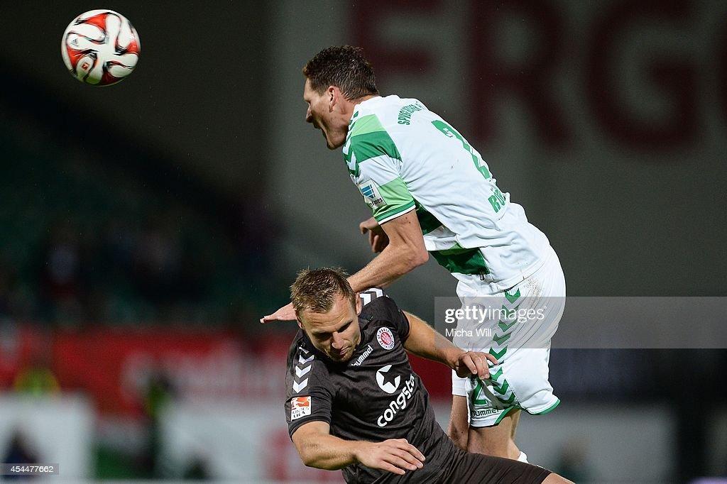 Greuther Fuerth v FC St. Pauli - 2. Bundesliga