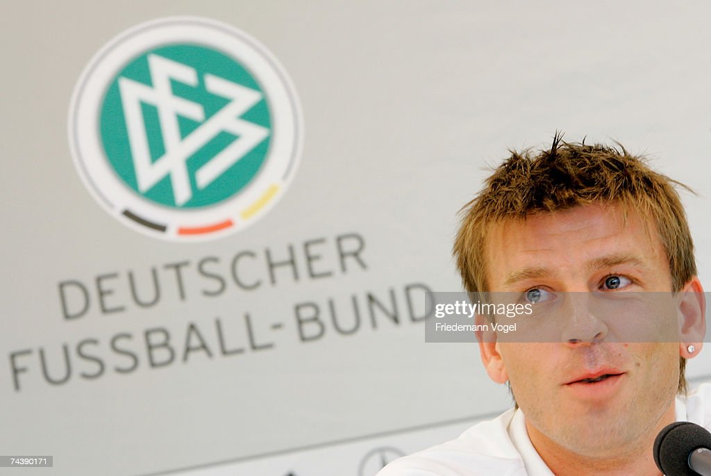 German National Team Press Conference and Training