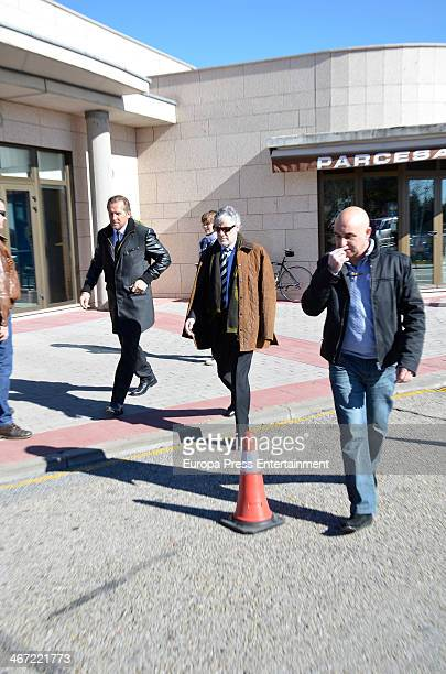 Bernd Schuster attends the funeral chapel for the former coach of the Spanish national football team Luis Aragones who died at 75 aged on February 01...