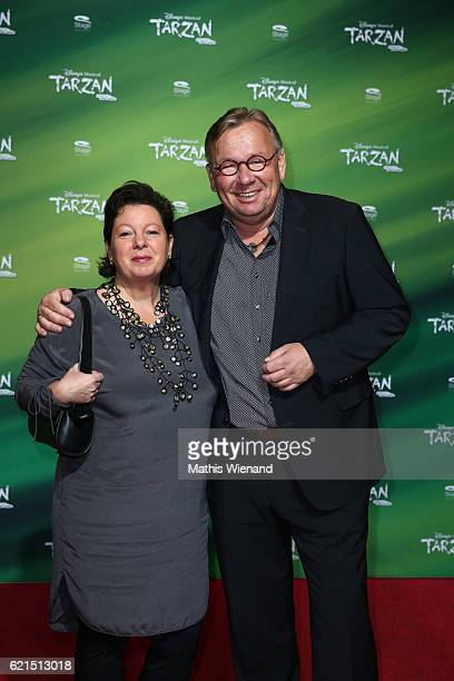 Bernd Stelter and his wife Anke attend 'Tarzan' Musical Premiere on November 6 2016 in Oberhausen Germany