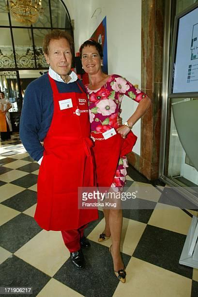 Bernd Und Barbara Herzsprung Bei Unicef Promikochen Foodstock Die Jungen Wilden Kochen In München