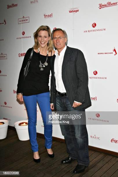 Bernd Wehmeyer Und Tochter Caroline Bei Der Players Night Am Rande Der Atp Tennis Masters In Der Insel In Hamburg Am 160507