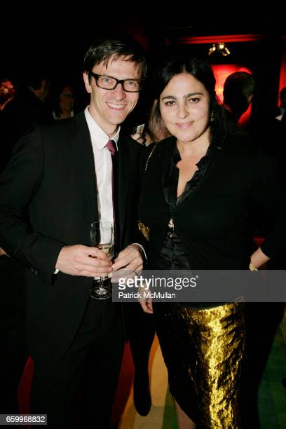 Berndt Hauptkorn and Solange AzaguryPartridge attend SOLANGE AZAGURYPARTRIDGE Boutique Opening AfterParty at The Carlyle on May 5 2009 in New York...