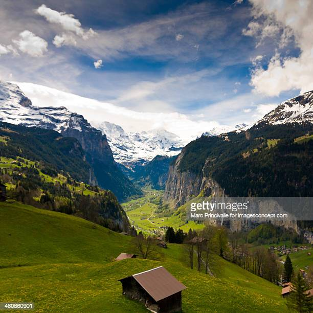Bernese Oberland - Lauterbrunnen valley