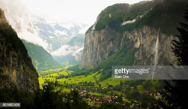 Bernese Oberland, Lauterbrunnen Valley